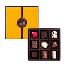 Corné Port-Royal Quadrat Box, 125 g