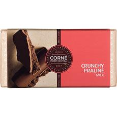 Tablet Melk Crunchy Praliné, 125 g, per 5 st.