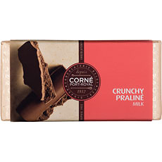Weißer Schokolade knusprig-Praliné, 125 g, per 5 Stück
