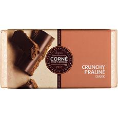 Dunkler Schokolade knusprig-Praliné, 125 g, per 5 Stück
