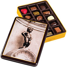 Corné Port-Royal Tin Box Manneken Pis 225 g