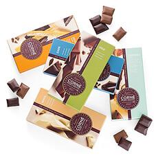 Chocolade is dé manier bij uitstek om iemand te bedanken, te feliciteren of gewoon om te tonen dat je aan hem/haar denkt.