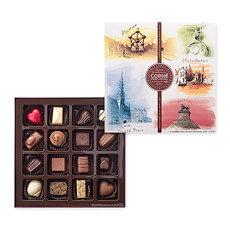 A Box of 16 pralines is the perfect way to give or receive our signature chocolates.