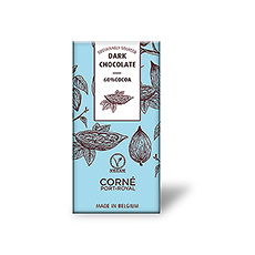 Tafel dunkle Schokolade 60%, 70 Gramm, pro 5 Stück