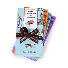 Corné Port-Royal Vegane Kollektion Schokoladentafeln