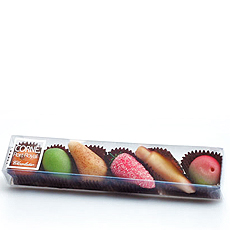 Corné Port-Royal Etuis Gourmand Fruits Massepain, 105 g - 6 pcs