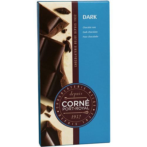 Tafel dunkler Schokolade 52%, 90 g, per 5 Stück