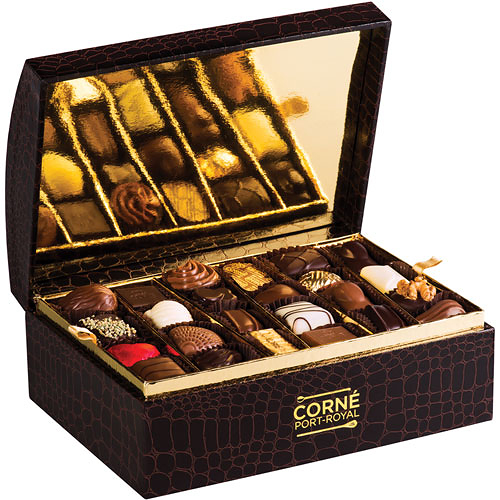 Corné Port-Royal Croco Assorted Chocolates, 48 pcs