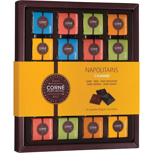 Napolitains 5 Smaken, 180 g, 40 chocolaatjes