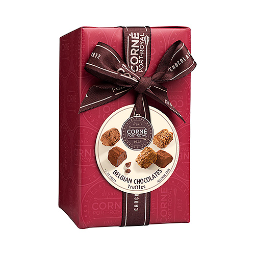Corné Port-Royal Ballotin Truffles, 480 g (No Alcohol)