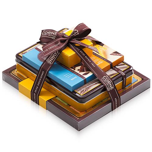 Belgischer Schokoladenturm