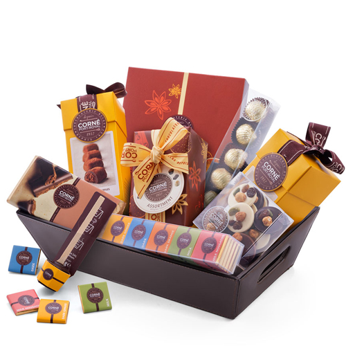 Mother's Day Square Box with 9 Chocolates