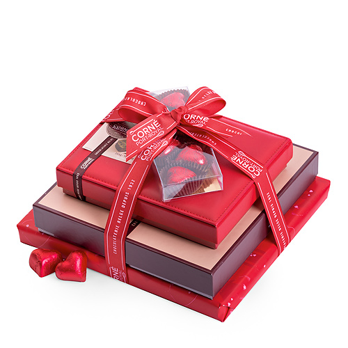 Corné Port-Royal Liebevoller Schokoladenturm