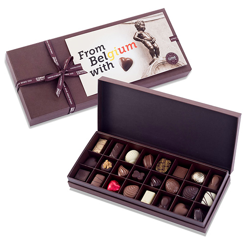 Corné Port-Royal Boîte Cadeau From Belgium With Love, 24 pcs