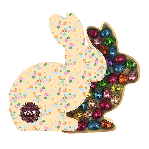 Corné Port-Royal 2019 Bunny Box Easter Eggs, 450 g
