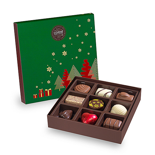 Corné Port-Royal Christmas 2019 : Small Box, 9 pcs