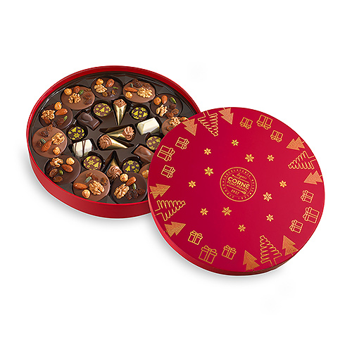 Corné Port-Royal Christmas 2019 : Round Box Large, 374 g