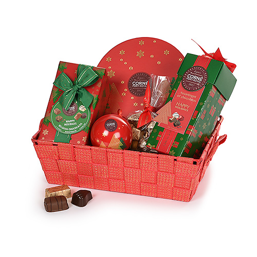 Corné Port-Royal Red & Gold Christmas Hamper