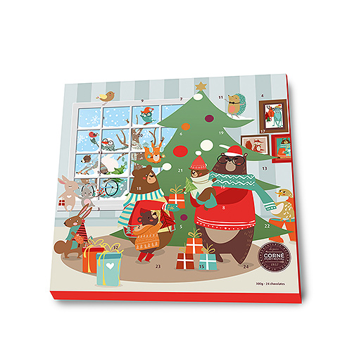 Corné Port-Royal Christmas 2020 : Advent Calendar, 24 pcs