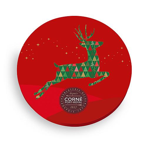 Corné Port-Royal 2020 Round Christmas Box, 21 pcs