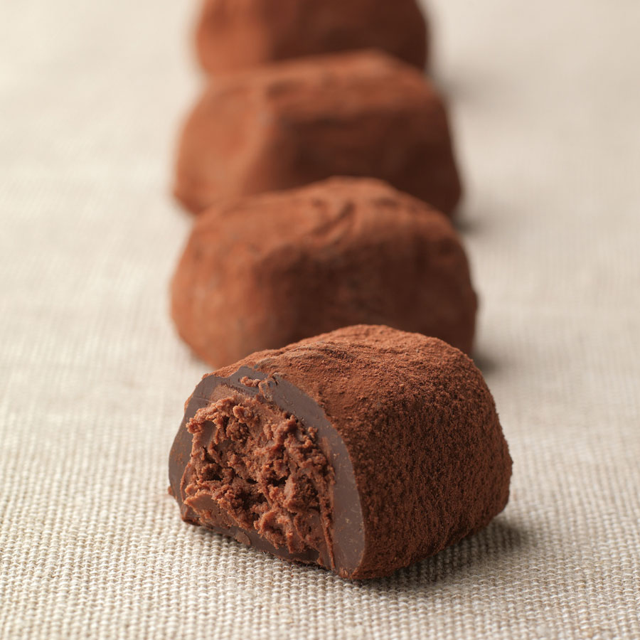 Chocolate Truffles, 175 g, +/- 11 truffles - Delivery in United ...