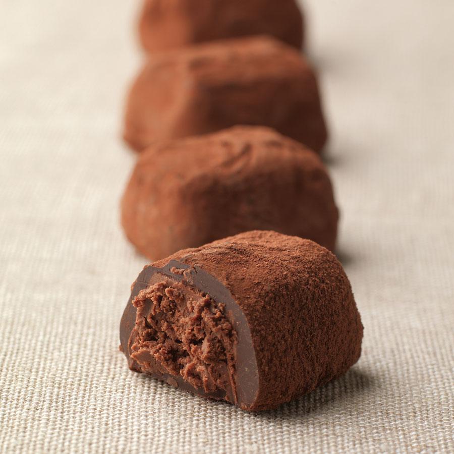Truffes Chocolat, 175 g, +/- 11 truffes - Livraison en ...