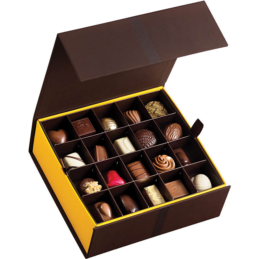 how to make a gift box out of chocolates