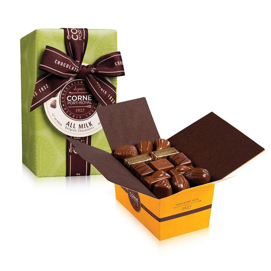 corn port royal tout chocolat au lait livraison en belgique corn port royal chocolatier. Black Bedroom Furniture Sets. Home Design Ideas