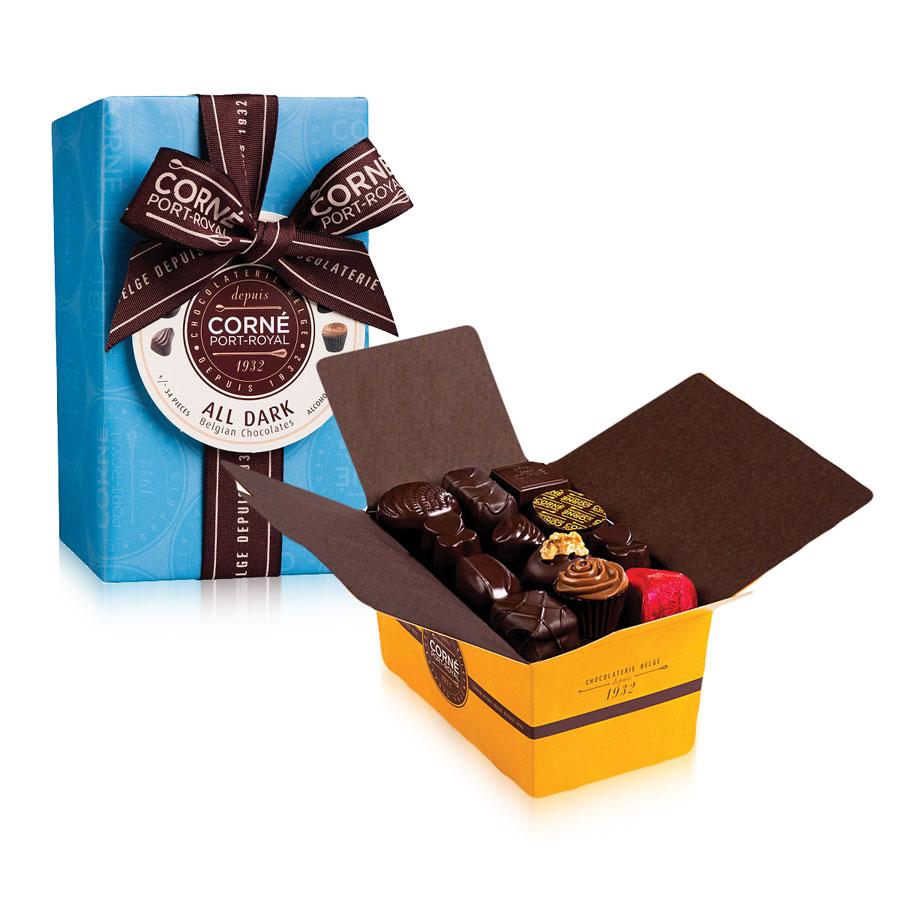 corn port royal rein dunkle schokolade lieferung in. Black Bedroom Furniture Sets. Home Design Ideas
