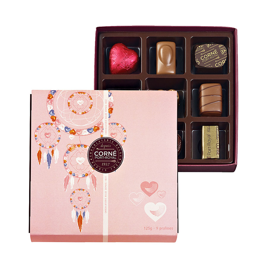 Corné Port-Royal Pink Chocolate Tower - Delivery in United Kingdom ...